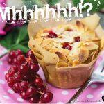 Johannisbeer-Muffins, vegan